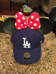 mickey mouse ears baseball cap
