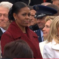 Michelle's face was the best part of the Inauguration!