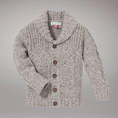 Buy John Lewis Cable Knit Cardigan, Grey Online at johnlewis.com, Toddler Boy Style, Boys Fashion, Baby Boy Fashion