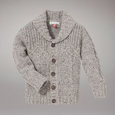 Buy John Lewis Cable Knit Cardigan, Grey Online at johnlewis.com, Toddler Boy Style, Boys Fashion, Baby Boy Fashion