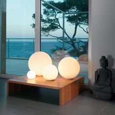 Ball Shaped Table Lamps