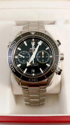 Begagnad Omega Planet Ocean 600M Co-Axial Chronograph 45,5mm - Mårtenssons Ur & Guld