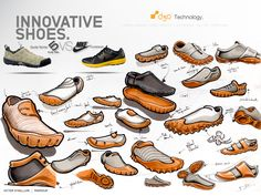 PUMA PARKOUR SHOES on Behance #id #product #sketch