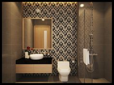 Phòng tắm, nhà vệ sinh được thiết kế liền khối, tạo nên sự tiện lợi và hiệu quả trong sử dụng