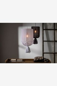 Wonderful and beautiful ceiling lamp in beautiful grey textile that gives your home a cozy feel. The shade has an ring bracket and the ceiling suspension is sold separately. Height 60 cm and diameter 30 cm. Ceiling Shades, Ceiling Lamp, Ceiling Lights, Round Pendant, Light Fittings, Beautiful Lights, Lampshades, Interior Inspiration, Sweet Home