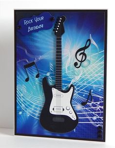 Great Guitar Card Topper on Craftsuprint - View Now!