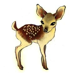 Deery Card PackSmall by ckuhwald on Etsy