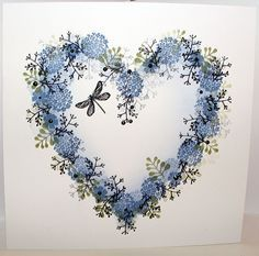 Don't miss us on HOCHANDA Wednesday February 15th Love Cards, Diy Cards, Cardio Cards, Card Making Techniques, Heart Cards, Card Making Inspiration, Watercolor Cards, Creative Cards, Anniversary Cards