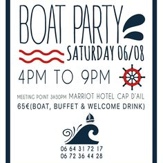 Boat party 6/08/16