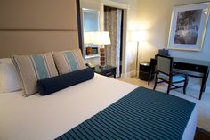 Small deluxe queen room for those of you who enjoy spending time on Duval Street.