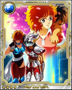 Seiya y Marin (maestra) / Seiya y Seika (hermana) Crèditos al autor / Seiya y su Gran MAESTRA ^ ^ Pegasus, Familia Anime, Boruto Naruto Next Generations, Blue Exorcist, Dragon Ball Z, Anime Manga, Marines, Digimon, Otaku