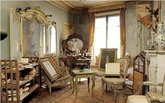 discovered flat in paris old untouched
