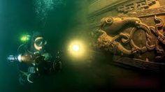 mergulho em cavernas submersas