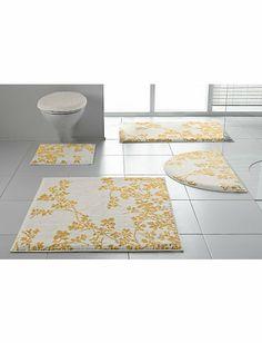 badset  met opdruk goudkleurge blaadjes