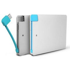 Slim Pocket Charger for your Smart Phone and Devices    #PowerBank #Electronics
