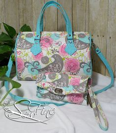 Medium Blanche Barrel Bag handbag by GiftSewFine on Etsy