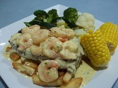 Surf & Turf Delicious and extremely easy for an impressive looking dish.