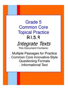 25 Ri 4 9 Integrate Information Ideas Paired Passages Texts Paired Texts