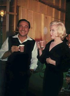 Gene Kelly made a cameo appearance in Marilyn's 1960 movie 'Let's make love'; and at the time Marilyn died he was discussing working with her on a project called 'I love Louisa' which was released by Twentieth Century-Fox in 1964 as 'What a Way to...