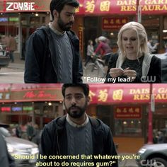 "#iZombie 1x04 ""Liv and Let Clive"" - Liv and Ravi"