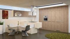 Bauformat Kitchen Cabinets Contemporary // Modern // European // Chicago
