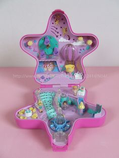 Totally had this----polly pocket Fairylight Wonderland