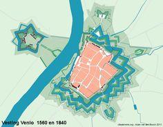 Citadel Venlo » Blog Archive » De vestingwerken van Venlo