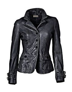 Karst Military Leather Jacket Women Leather Jackets