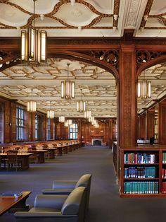The Reading Room, Linderman Library, Lehigh University