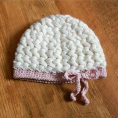Samantha Hat - Newborn to Adult  What a lovely hat. I really need to learn to crochet.
