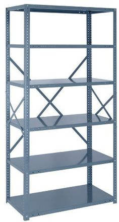 Steel Shelving Unit Open 22 Gauge Ironman 7 Shelves 18 x 36 x 75 GRAY by Quantum. $191.67. . Shelving has a smooth powdercoat finish. Heavy duty, high grade shelvingunits are easy to clean and willnot rust or corrode Shelving has a smooth powdercoat finish