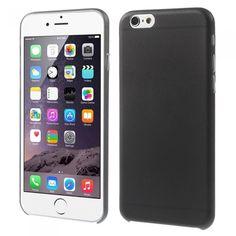 Svart mjukskal till iPhone 6. Hitta fler Billiga iPhone 6-skal på: http://www.phonelife.se/billiga-mobilskal