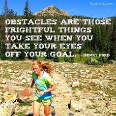KEEP YOUR EYES ON THE GOAL, DON'T GIVE UP! #nevergiveup #happy #smile #instagood #instarunners #running #trailrunning #fun