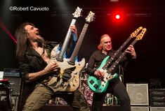 "Words and Pictures: Robert Cavuoto   Sons of Apollo performed a high octane show at the PlayStation Theater in New York City on Friday, May 18th to support their latest progressive metal masterpiece, Psychotic Symphony. They are a powerhouse group of all-star musicians featuring Ron ""Bumblefoot"" Thal on"