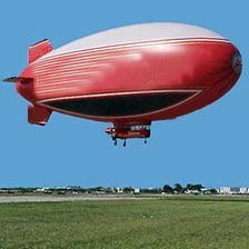 I'd also like a ride in a blimp!