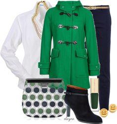 """Benetton Green"" by elayne-forgie on Polyvore"