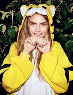 Cara Delevingne by Angelo Pennetta for i-D Magazine 'Go To Sleep, Things Will Be Better In the Morning' Editorial - December 2012