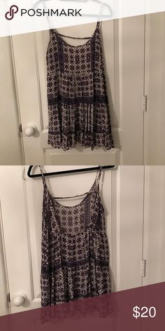 Printed dress From brandy last year wore it once Brandy Melville Dresses Mini