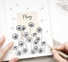 My May plan with me is up (link is in my bio!) who's already watched? So many of you got the theme right, or close enough, hehe! Will pick a winner soon! . . . . #bulletjournal #bujo #daisies #drawing #flatlay #aesthetic #notebook #studygram #studyblr #planner #bohoberrytribe #organisation #school #stationery #planneraddict #plannerlove #bujoideas #study #journal #bujolove #bulletjournalcollection #studying #travelersnotebook #bulletjournalmonthlylog