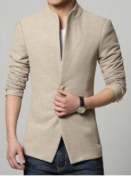Single-Breasted Casual Blazer – The Elite Trends Blazers For Men Casual, Casual Suit Jacket, Casual Blazer, Indian Men Fashion, Mens Fashion Suits, Men's Fashion, Blazer For Men Wedding, Terno Slim, Blazer Outfits Men