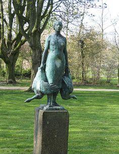 Auke Hettema  Ganzenvrouwtje   Zuiderpark Den Bosch