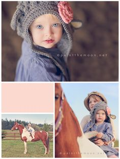 Annie's beautiful photography: Little Girls, Horses and Golden Light Photo Session - Paint the Moon Photoshop Actions