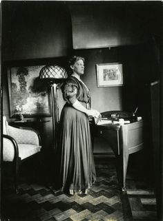 Maria Sèthe - echtgenote van H. van de Velde. 1867 - 1943