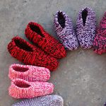 30+ Free Slipper Patterns: {Knit, Crochet, Sewing}