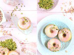 Pistazien-Rosen-Donuts ♥