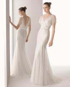8 8K206 IDEAL - Vestido de Noiva - Rosa Clará