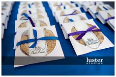 Cute inexpensive wedding favors - Home made cookies wrapped in a CD holder. Maybe make a sugar cookie and pipe the guests name on it.