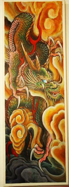 Dragon Painting   Issei Kurikara   Flickr