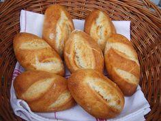 20 természetes kovászos péksütemény – zsemle, gyökérkenyér (pain paillasse) baguette, kifli, ciabatta, kalács- házi pékségemből | Nem vagyok mesterszakács | Bloglovin' Ciabatta, Bread And Pastries, Croissant, Baguette, Smoothie, Bakery, Food And Drink, Recipes, Breads