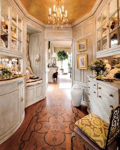 Image detail for -New Home Interior Design: English Countryside - Cosy Cottage Style At Home, Beautiful Kitchens, Beautiful Homes, Cosy Cottage, Enchanted Home, Butler Pantry, Cottage Interiors, Home Interior Design, Country Interior